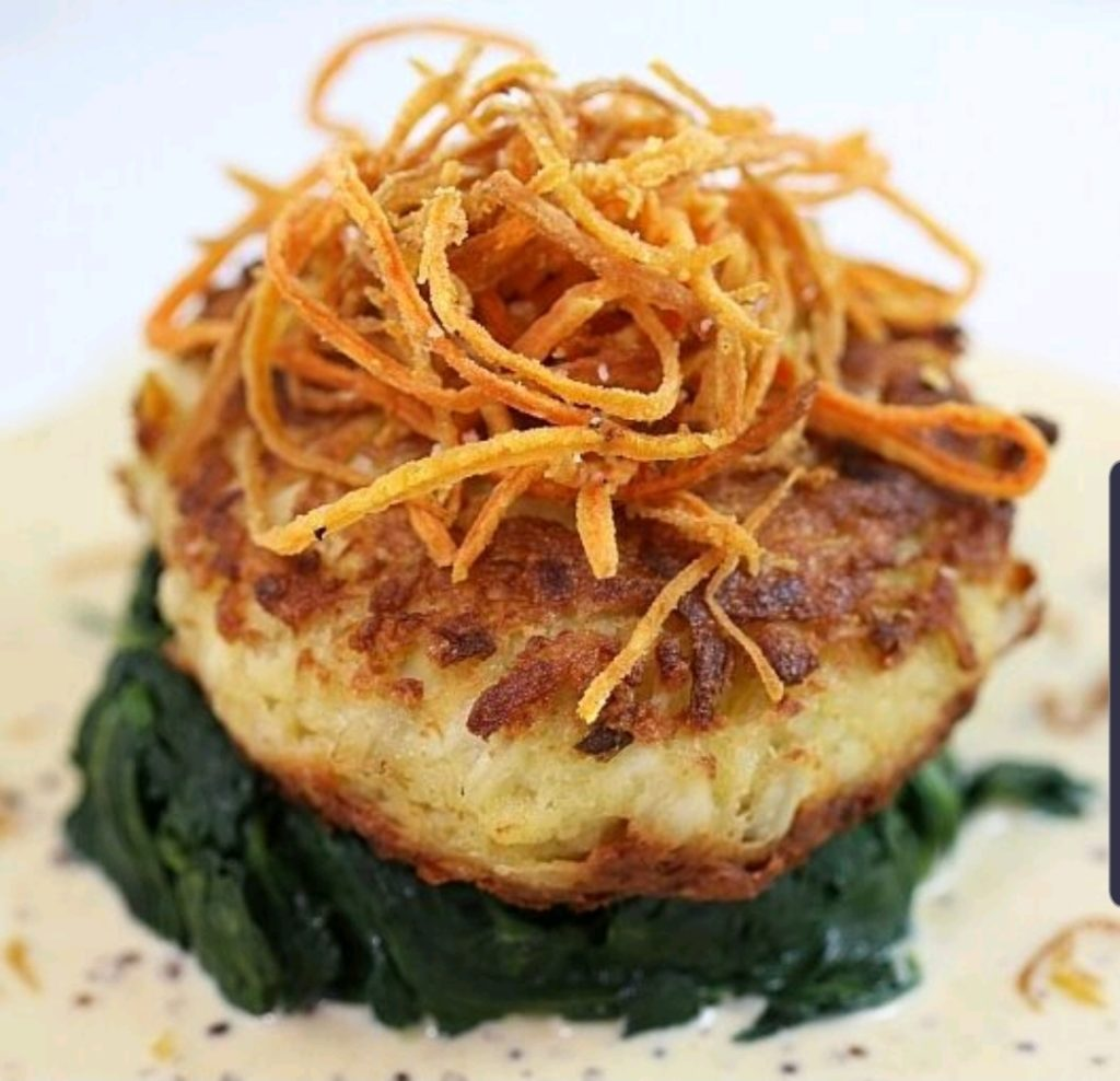 Local Jumbo Lump Crab Cake